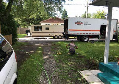 Nettoyage à pression | Mini-excavation Joliette