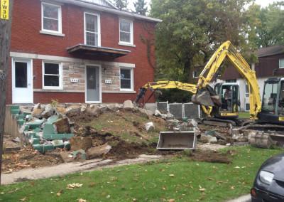 Démolition cassage de béton | Mini-excavation Joliette